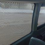 Prisoner Transport van windows