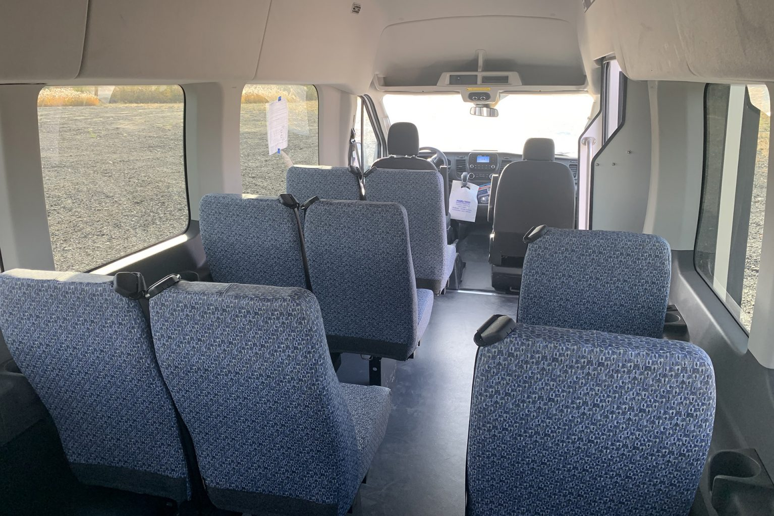 Public Transportation interior seating