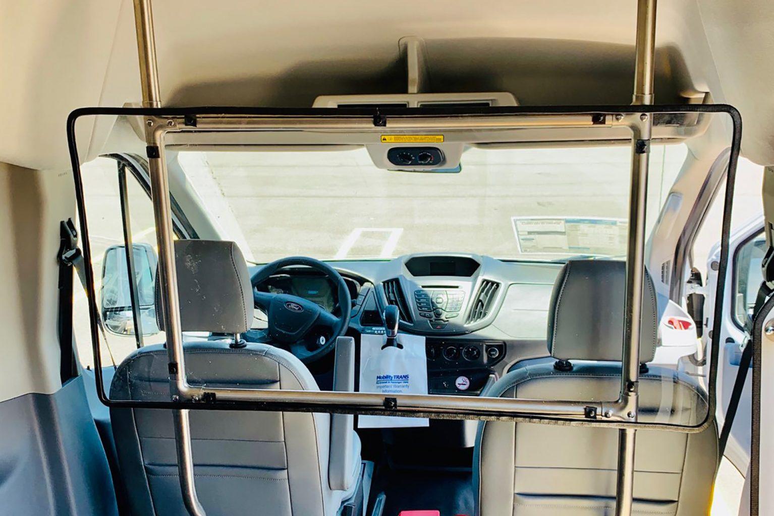 Public Transportation driver window