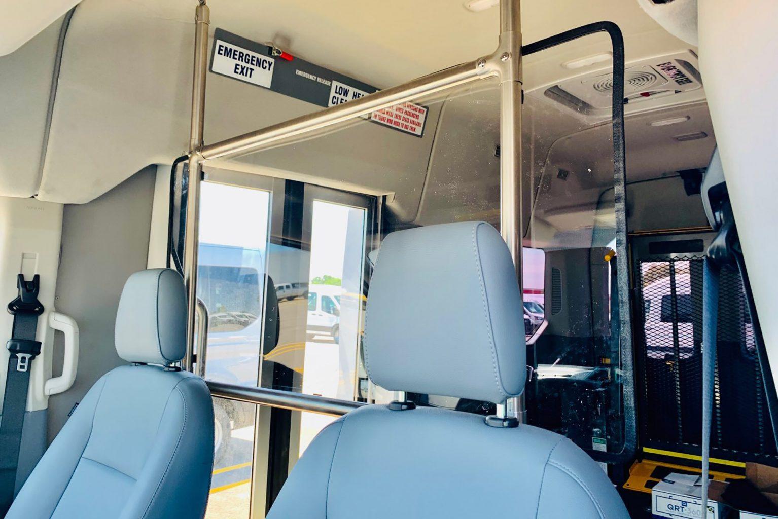 Public Transportation window