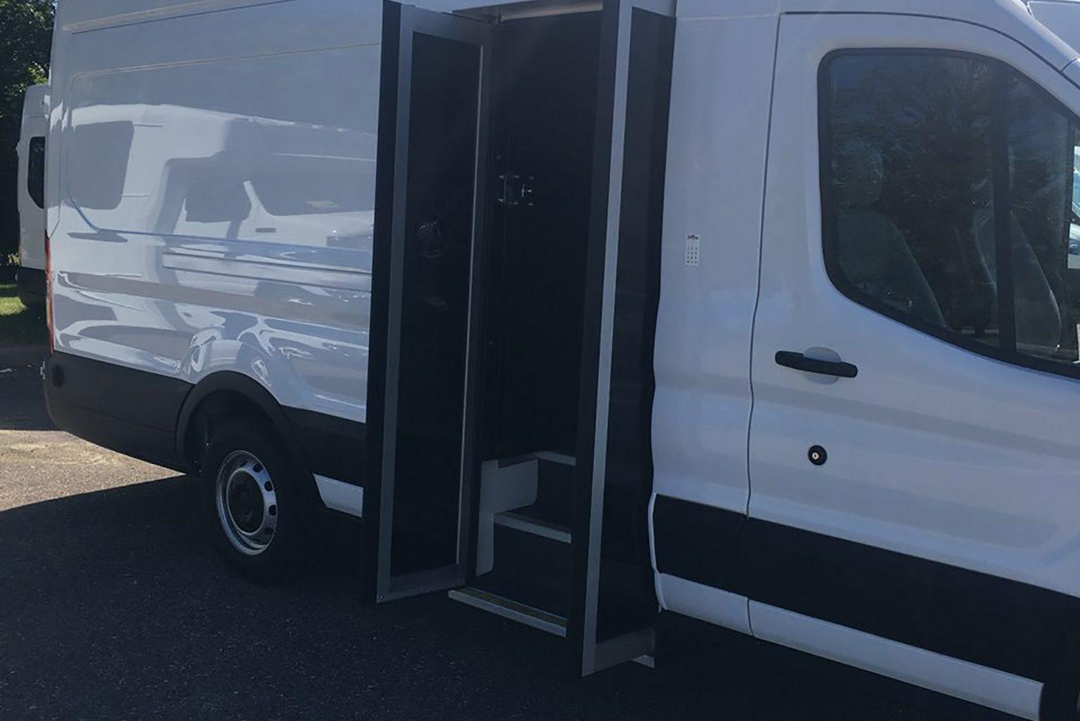 Prisoner Transport van exterior