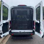 Prisoner Transport van with trunk open