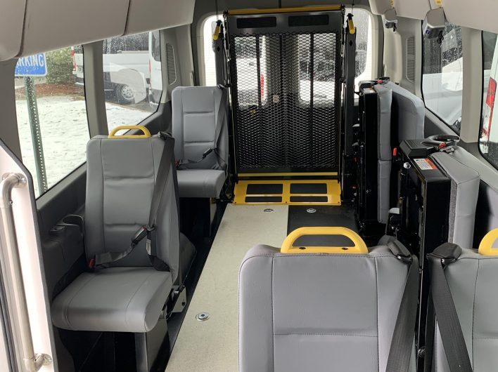 ADA Accessible Van interior